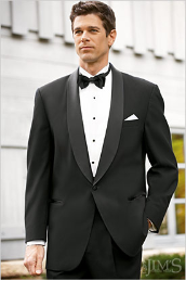 One Button Shawl Jacket Tuxedo Package - Used Rental Garments