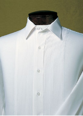 After SIx White Laydown Shirt - Used Rental Garment