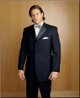3 Button Prado Tuxedo Package - Used Rental Garments