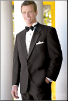 One Button Notch Tuxedo Package - Used Rental Garments