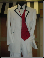 White Celebration Tuxedo Package - Used Rental Garments